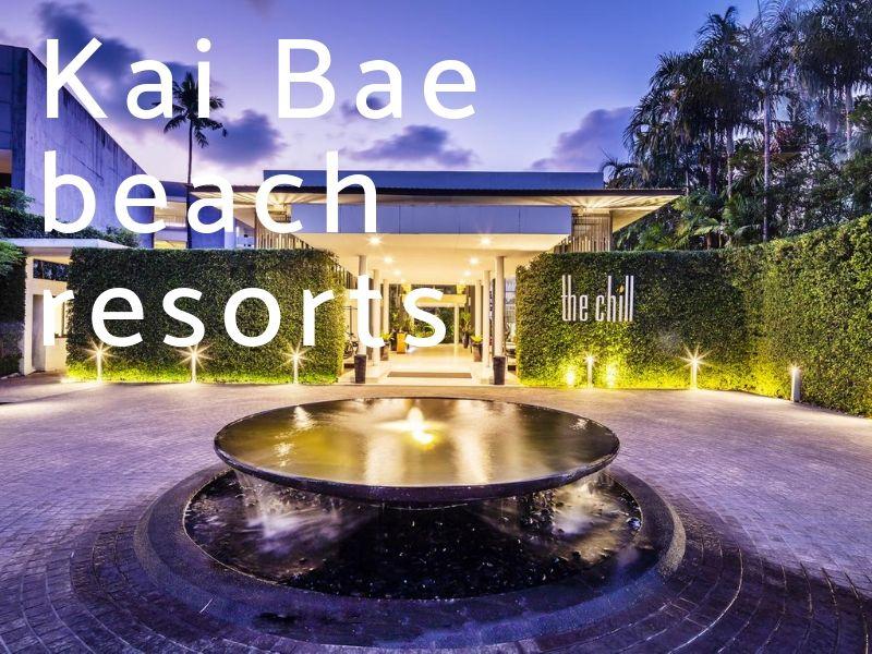 Resorts on Kai Bae beach